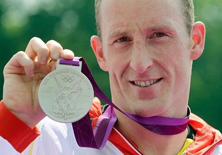 Olympische Medaille Thomas Lurz