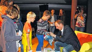 MAINPOST Thomas Lurz motiviert Oberstufenschüler