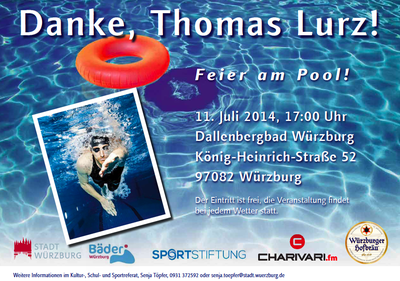 Pool Party - Danke, Thomas Lurz