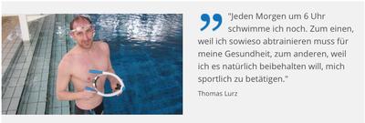 Begegnungen — Zitat Thomas Lurz